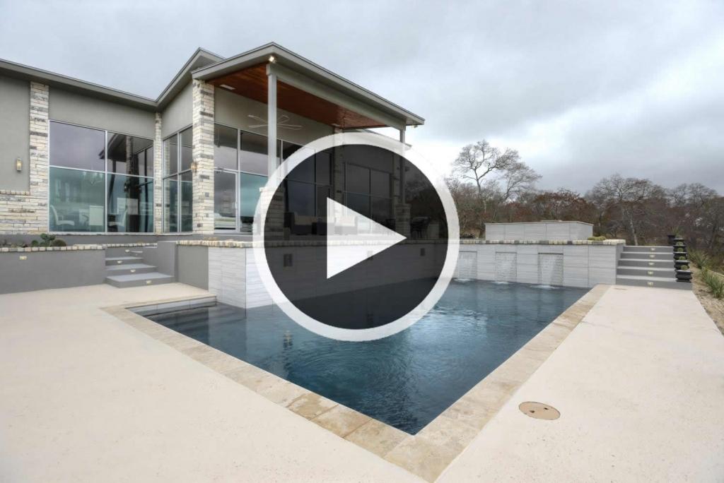 Modern Contemporary custom home video