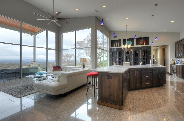 modern style custom kitchen san antonio tx
